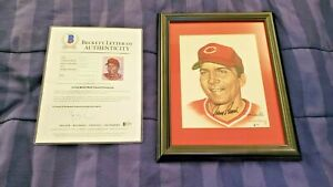 Absolutely Awesome Johnny Bench and Ron Lewis autographed Limited Edition Print!