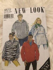 Newlook 6572 Size S-XXL Sweater Shirt And Hoody's English. Pattern