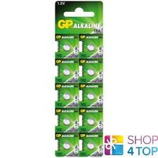 10 GP ALKALINE CELL LR41 192 BATTERIES G3 1.5V COIN CELL BUTTON EXP 2021 NEW