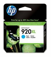 HP 920XL High Yield Cyan Original Ink Cartridge CD972AE
