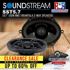 """Soundstream SST5.7 5x7"""" 130W RMS Tarantula 2-Way Speakers"""