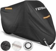 Motorbike Cover Heavy Duty Waterproof Motorcycle Anti UV Lock Hole Protection UK