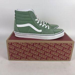 Vans Suede SK8-Hi Skate Shoes Mens Size 10 Shale Green VN0A32QG4G6
