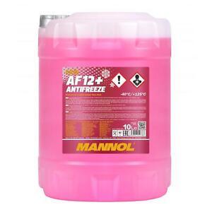 10L Antigel Rouge G12 + Mannol Antigel AF12 40°C Antigel