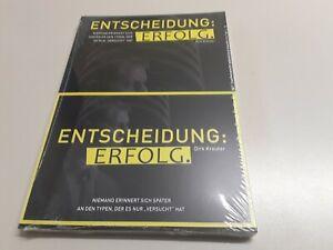 NEUES BUCH Entscheidung Erfolg - Dirk Kreuter / Taschenbuch deutsch TOP