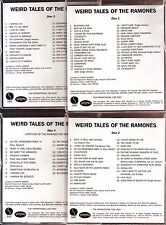 weird tales of the ramones 3x cd 1x dvd limited edition