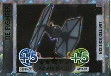 Star Wars Force Attax : Force Awakens Set 1 Limited Edition LEMA Tie Fighter