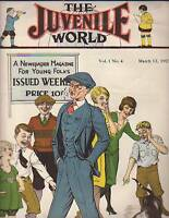1927 Juvenile World March 12-Abe Lincoln; World Series