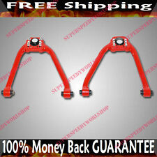 RED Front Adj Camber Arms for 03-07 Nissan 350Z Coupe 2D 3.5L 3948CC V6