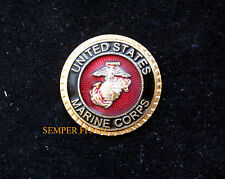 US MARINE CORPS EAGLE GLOBE & ANCHOR HAT PIN MARINES EGA SEAL LOGO VET GIFT WOW