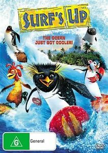 Surf's Up (DVD, 2010)**R4*Terrific Condition*