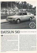 1978 Datsun 510 Classic Original Road Test Print Article - LTG1