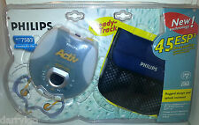 *BRAND NEW* Philips ACT7583 ESP 45 Portable CD Player Rugged/Splash Resisistant