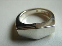 925 Größe 55 13,81 Gramm Wilkens vorne durchbrochener Ring mehrere