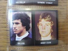 1979/1980 Football Sticker 79/80: 431) Dundee United - Bobby Stark & 377) Argent