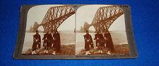 Vintage Stereoview Card Scotland's Pride Underwood
