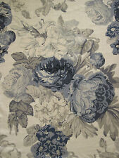 "TESSA PROUDFOOT FOR ST LEGER & VINEY CURTAIN FABRIC DESIGN ""Isabella"" 9.9 METRES"