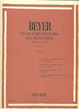 RICORDI Beyer, Ferdinand - SCUOLA PREPARATORIA OP.101