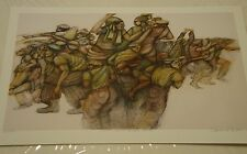 Charles Bibbs . HATS BOOTS AND BAGGY PANTS #67/500  1991 Lithograph   #ab876