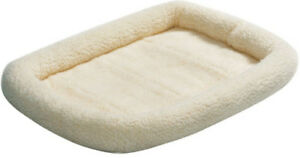 """Midwest QUIET TIME PET BED Dog Bed Synthetic Sheepskin 36"""""""