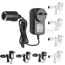 Car Cigarette Lighter Power Adapter 12V AC-DC 240V 2A Mains Voltage Converter