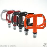 "Wellgo R146 Pedals 9/16"" Alloy Platform Mountain Bike Pedals 6 colors"
