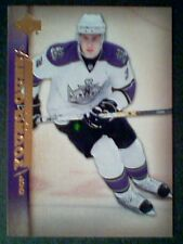 JACK JOHNSON  07/08 AUTHENTIC YOUNG GUNS ROOKIE CARD  SP