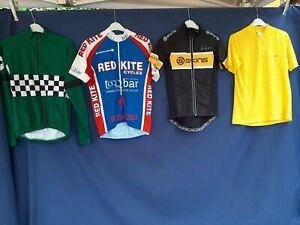 Joblot 4 x  Cycling Jersey tops Shirts bike wear SMALL  Adults top # A59