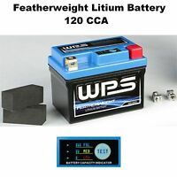 Featherweight Lithium Ion Battery 120 CCA Dirtbike Motorcycle Dirt Bike