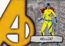 UPPER DECK MARVEL BEGINNINGS II 2 AVENGERS DIE-CUT CARD A-16 HELLCAT