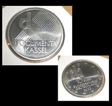 10 EURO € BRD Silbermünze stempelglanz /pp ? coin german Documenta Kassel 2002