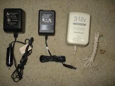 Power Adapters Input: 120 Vac 3-12 Vdc 800ma, 12V Dc 350ma, and 12Vdc 650ma