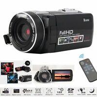 "HD 1080P Digital Video Camera Recorder Camcorder DV 24MP 3.0"" LCD Night Vision"