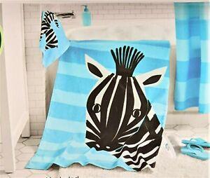 Bath Towel Set for children animal drawing