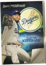 2017 Topps Bunt (Fisica) Programmi # Pr-Ck Clayton Kershaw Dodgers
