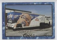 1995 Coors #78 1990's Delivery Truck Non-Sports Card 0b5