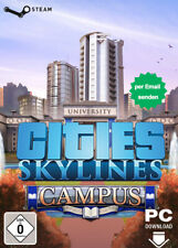 Cities Skylines - Campus Key DLC - PC Steam Download Code per Email - DE/Global