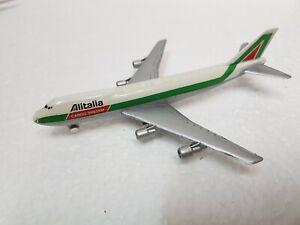 AEREO SCHABAK BOEING 747 ALITALIA CARGO SYSTEM  1:600  Scala Die Cast metal