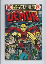 Demon #1 (5.5) FN- 1972 KEY! 1st Appearance/Origin of Etrigan (Jason Blood)!
