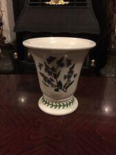 Lovely Portmeirion Botanic Garden Fan Shaped Vase- 14Cm ( Veronica Chamaedrys)