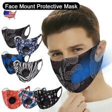 Reusable Lightweight Polyurethane Sponge  Face Mask Air Filter Breathing Valve