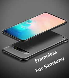 For Samsung Galaxy S7 S8 S9 S10 Note 8 9 Slim Thin Shockproof Clear Bumper Case