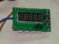 DC 12V Digital PWM DC Motor CPU Fan Temperature Control Speed Controller 4 Way