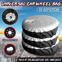 Universal Auto SUV Rim 13-19'' Wheel Bag Tire Tyre Spare Storage Cover