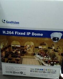Geovision GV-FD2500 2MP Super Low Lux WDR IR Fixed Dome IP Security Camera