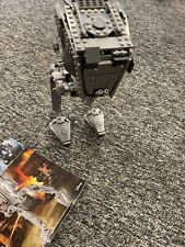 Lego Star Wars Custom AT-ST Walker (75153). Complete with instructions+driver