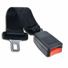 """Zone Tech Car Vehicle Seat Belt Extender 7"""" Polyester Safety Buckle Extension"""