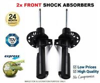 2x FRONT AXLE Shock Absorbers for PEUGEOT 807 2.0 16V 2005->on