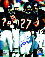 Mike Richardson Signed Chicago Bears 8x10 Photo - SCHWARTZ COA