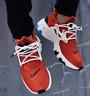 Nike React Presto Red White Black AV2605-800 Running Shoes Men's Multi Size NEW
